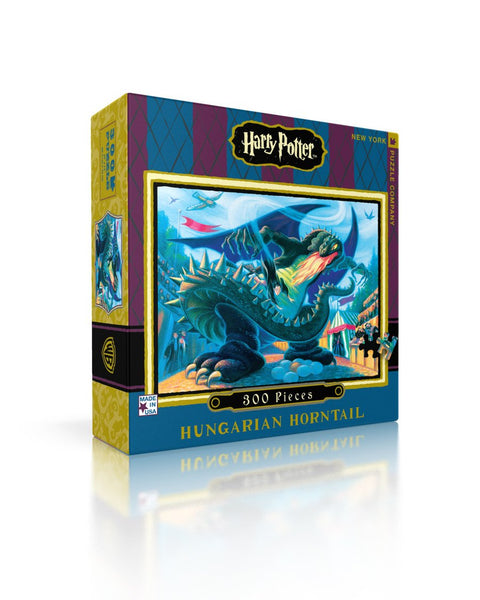 Puzzle Hungarian Horntail Harry Potter New York Puzzle Company 300 pièces