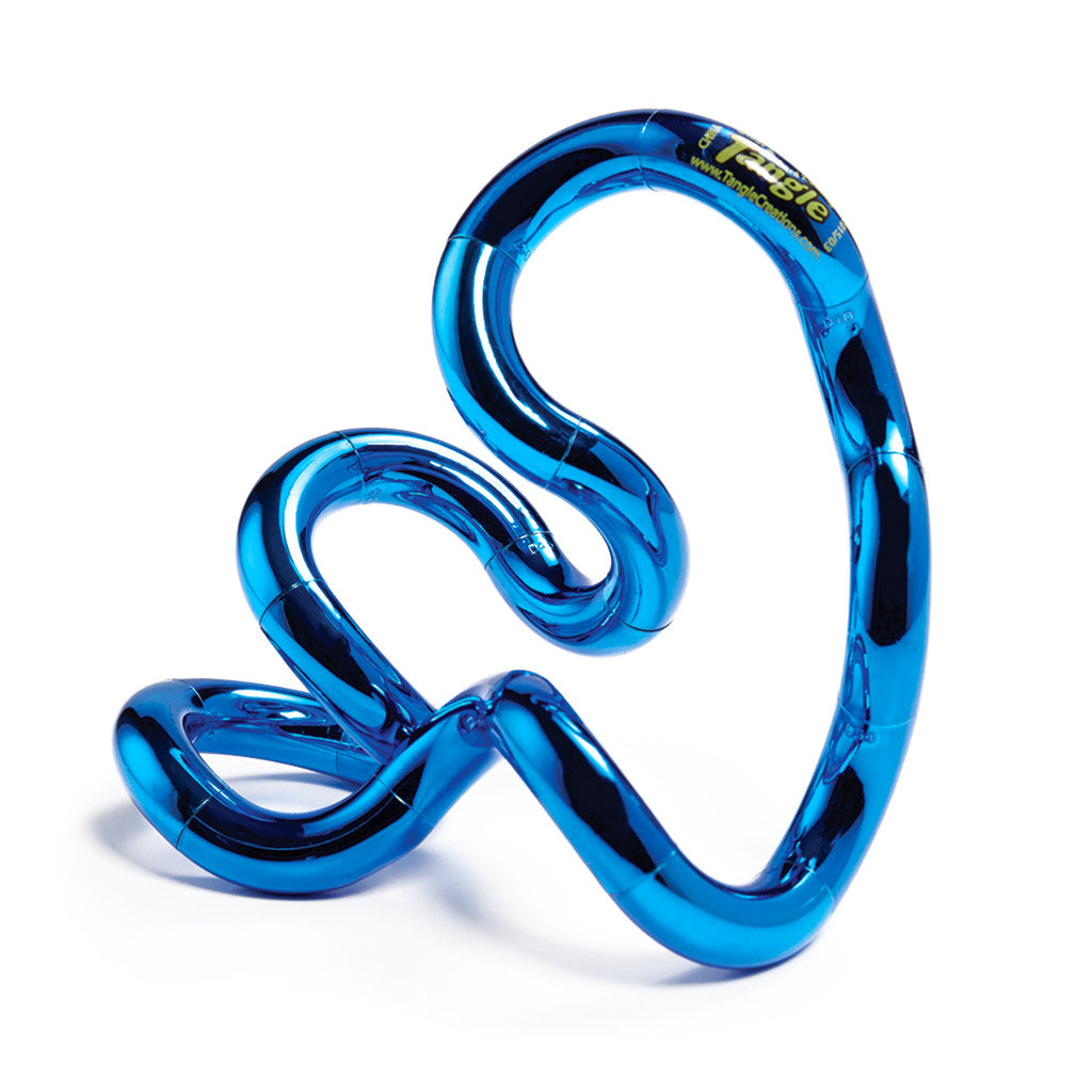 Tangle Jr. Metallic - Set of 3 Smooth, Shiny and Twisty Toys!