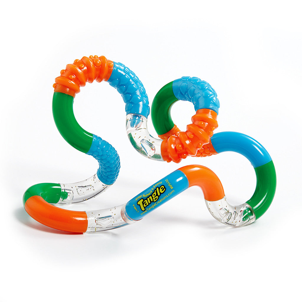 Tangle Jr. Textured - Set of 3 Groovy, Bumpy and Feel-Great Fidget Toys!