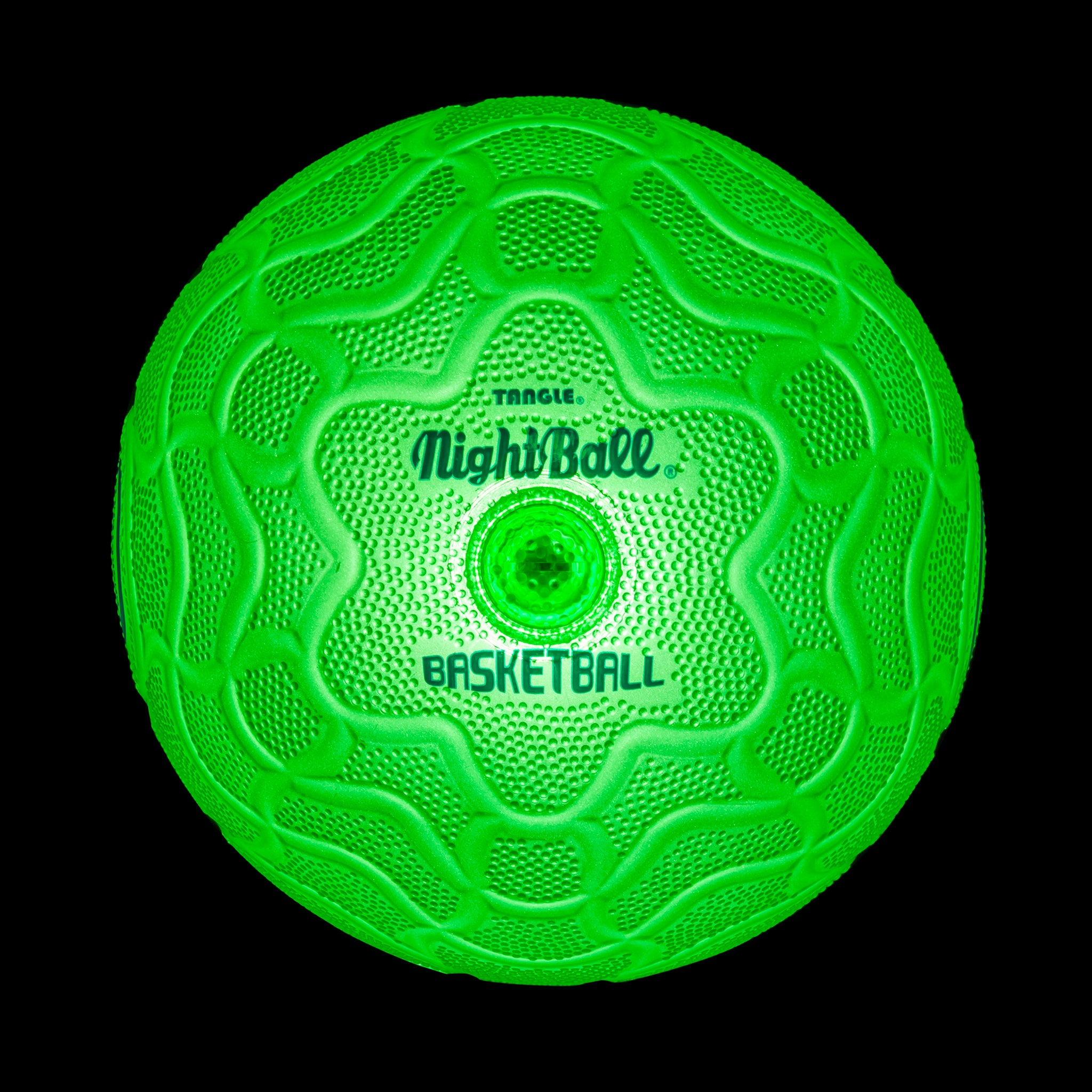 Tangle NightBall Basketball - LED Light Up Glow Basketball!