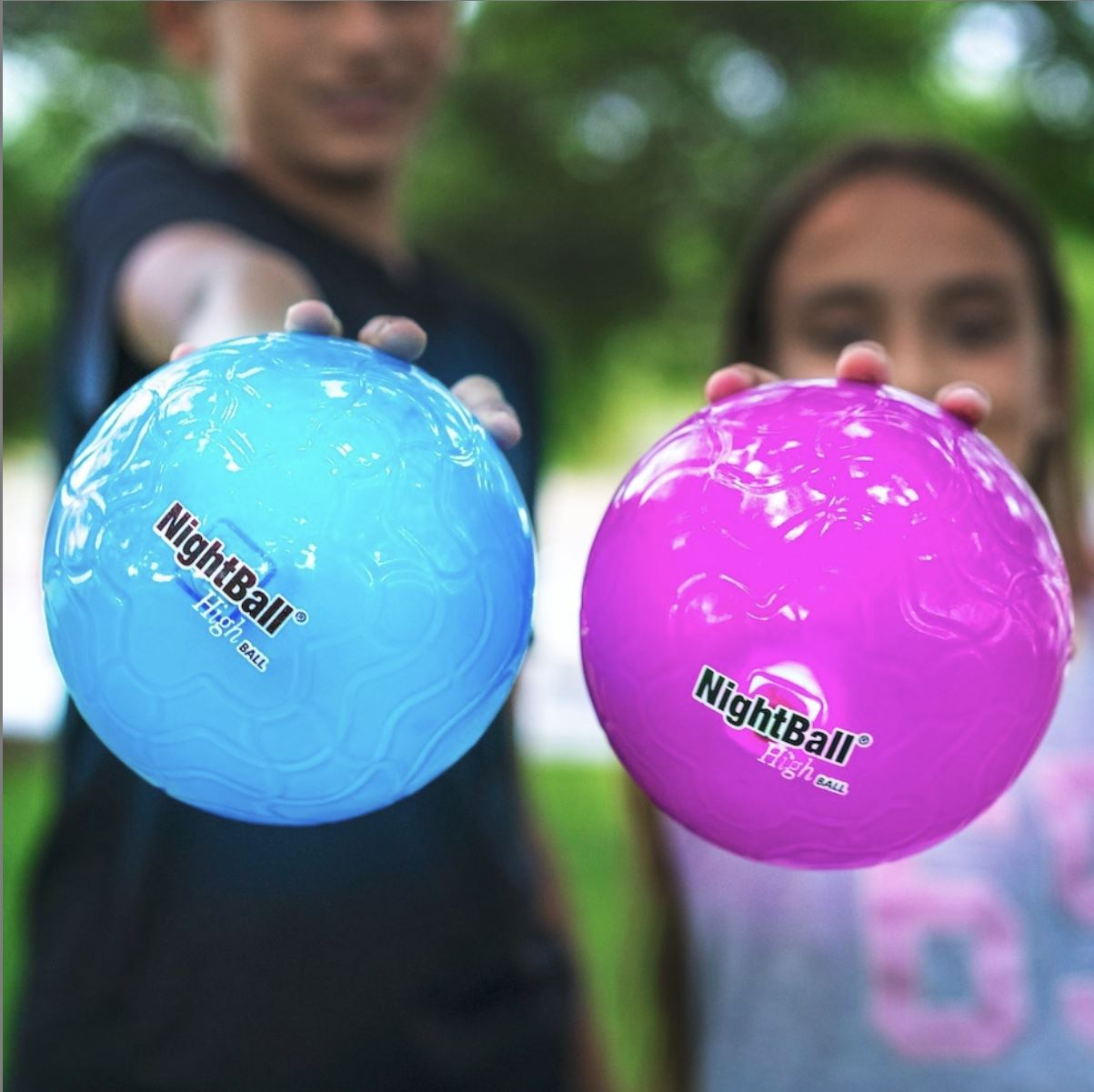 Tangle NightBall High Ball - LED Light Up High Bounce Ball!