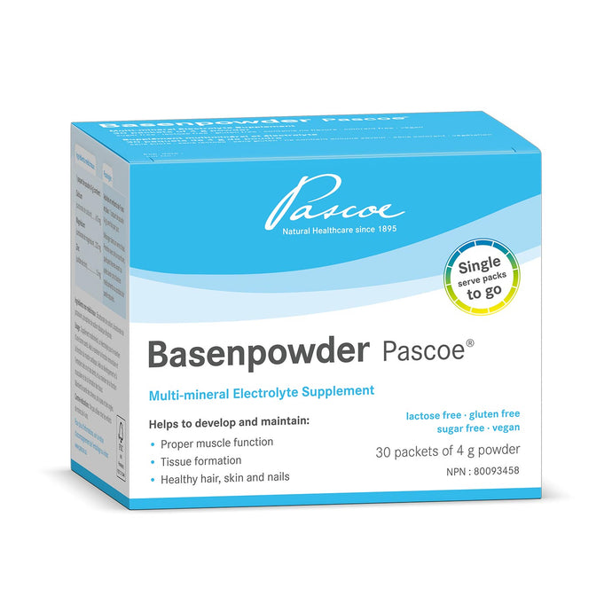 Pascoe Basenpowder, Multi-mineral Electrolyte Supplement 30 packets of 4g powder