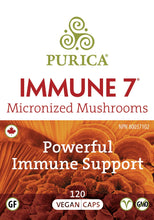 Load image into Gallery viewer, Purica Immune 7 120 Veg Caps