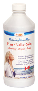 Nanton Nutraceuticals Nourishing Waves Plus for Hair, Skin & Nails, 450 ml