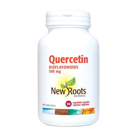 New Roots Herbal Quercetin Bioflavonoids 500mg 90 Veg Capsules