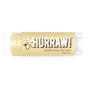 Hurraw! Vanilla Bean Lip Balm Organic, Raw & Vegan