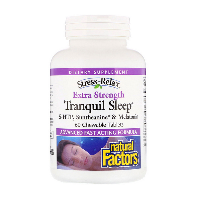 Natural Factors Tranquil Sleep Extra Strength