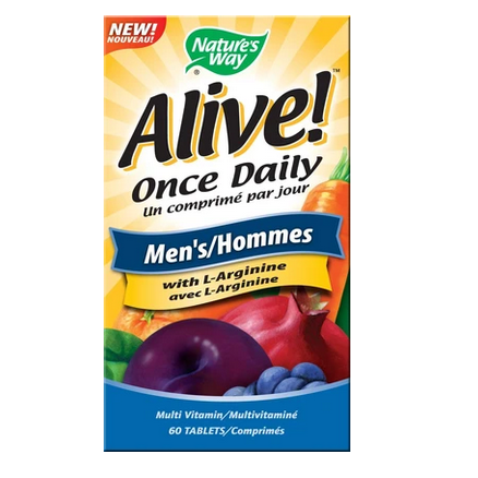 Nature's Way Alive Multi-Vitamins for Men