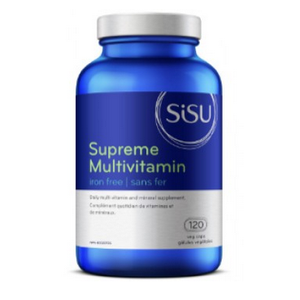 Sisu Supreme Multivitamin Iron-Free