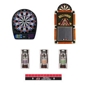 Complete Electronic Dartboard Package