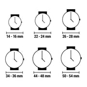 Uniseks The One AN08G04 (40 mm)-Horloge korting