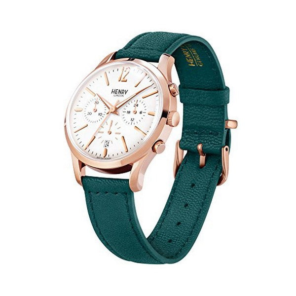 Henry London HL39-CS-0144 (Ø 40 mm)-Horloge korting