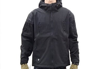 Outdoor Waterproof Soft Shell Hooded Military Tactical Jacket/ Spectre Hoodie/2021 SS