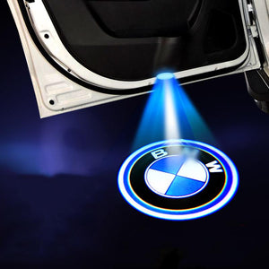 (Big Sale) For BMW Welcome LED Car Logo Lights Light Door Light Projector Welcome Accessories Fit for All Model (Buy 2 Get 10% Extra Discount)