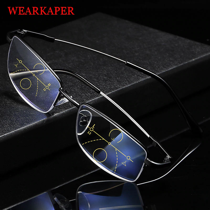 【Buy 1 Get 1 Free Only $19.99】German Intelligent Color Progressive Glasses
