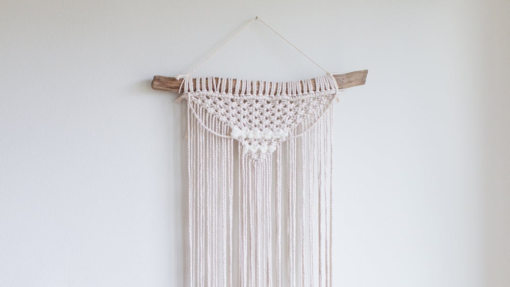Claire Macrame | Frosted | Medium Wall Hanging | 2 Colors