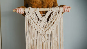 Blythe | Large Diamond Macrame Wall Hanging
