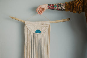 Hala | Medium Half Moon Macrame Wall Hanging