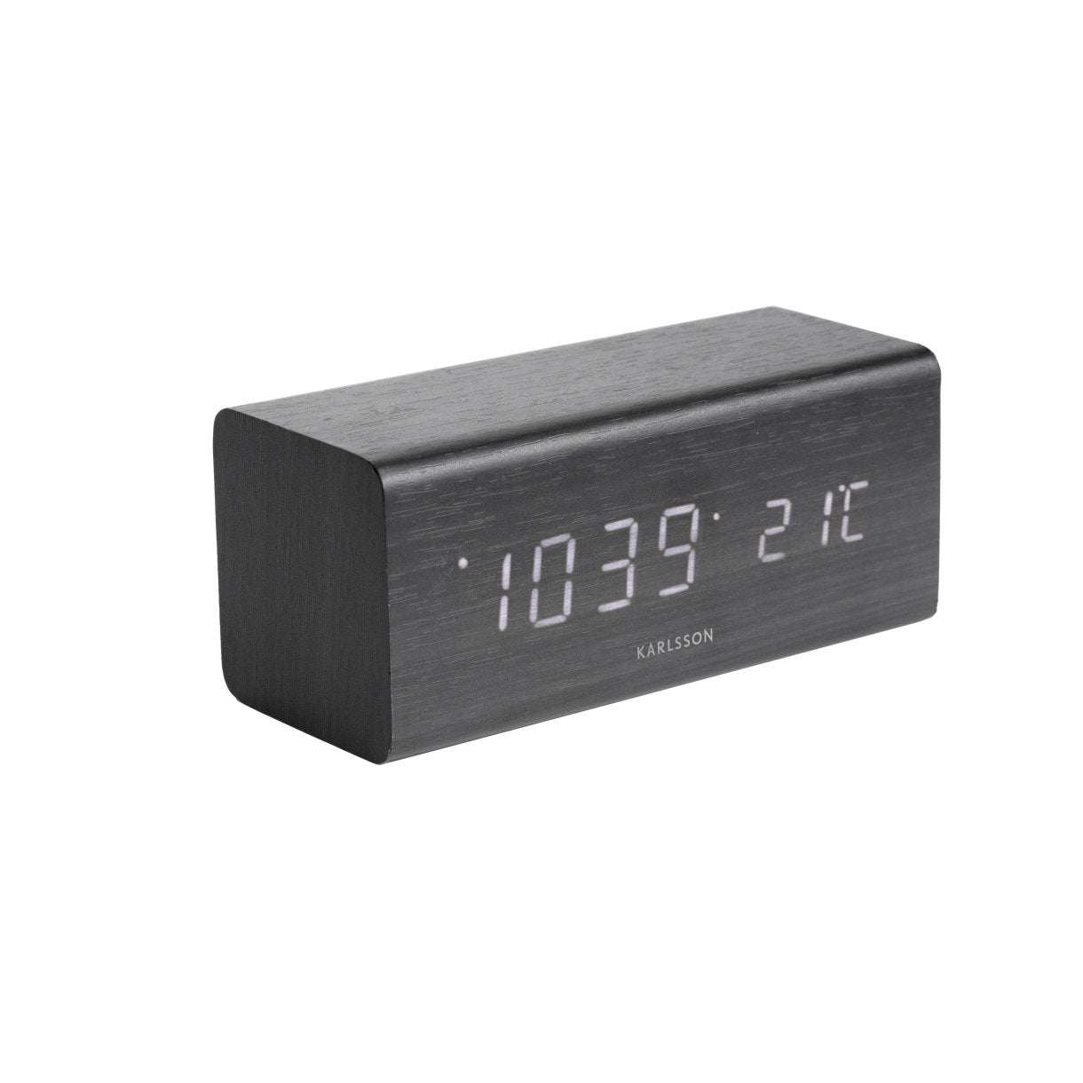 Alarm clock block black