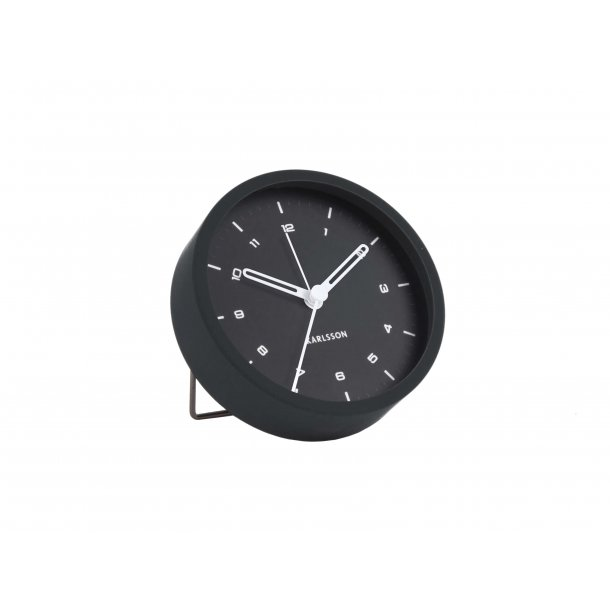 Alarm clock tinge black