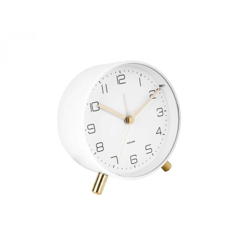 Alarm clock lofty white