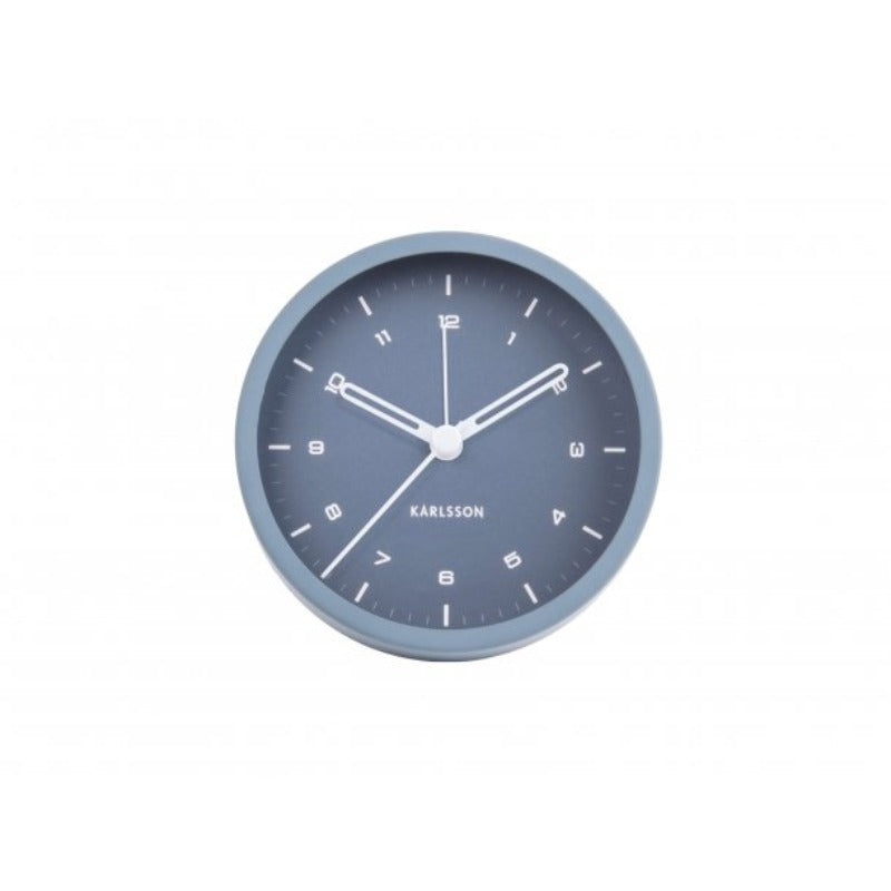 Alarm clock tinge blue