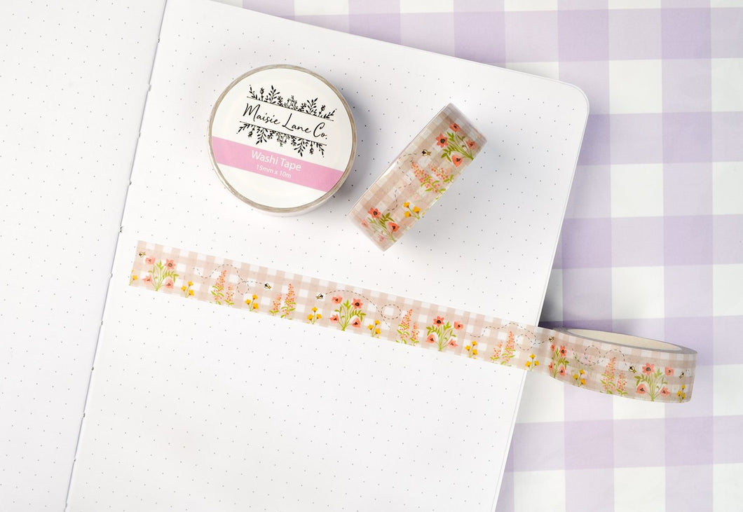 Busy Bee Washi - Maisie Lane Co.