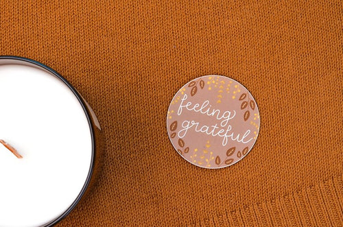 Feeling Grateful Sticker - Maisie Lane Co.