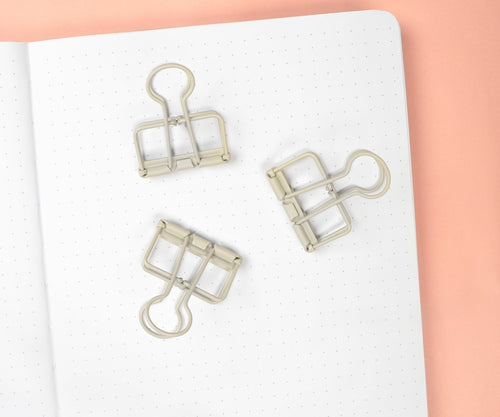 Griege Binder Clips - Maisie Lane Co.