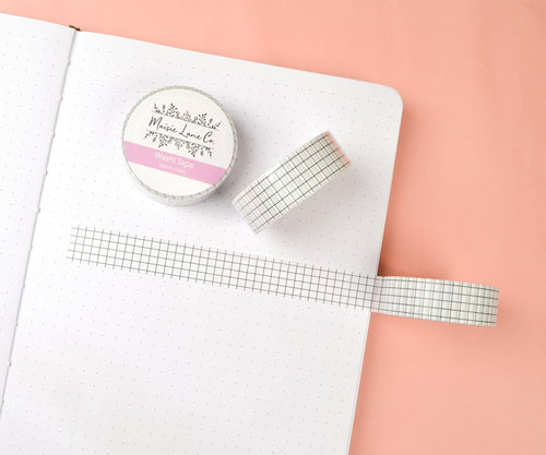 White Grid Washi - Maisie Lane Co.