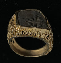 Load image into Gallery viewer, Mexico City Coin in Coral Reef Ring