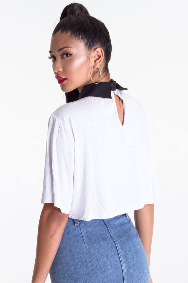 BOSS LADY CROP TOP