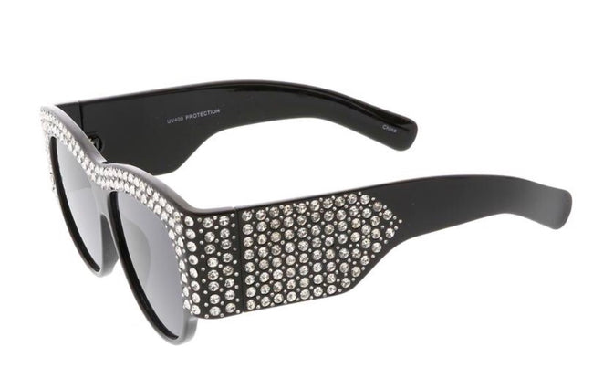 IM GUCCI SUNGLASSES (BLACK)