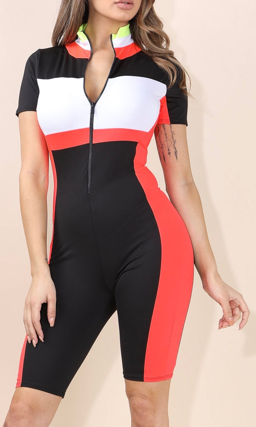 BICYCLE BABE SUIT