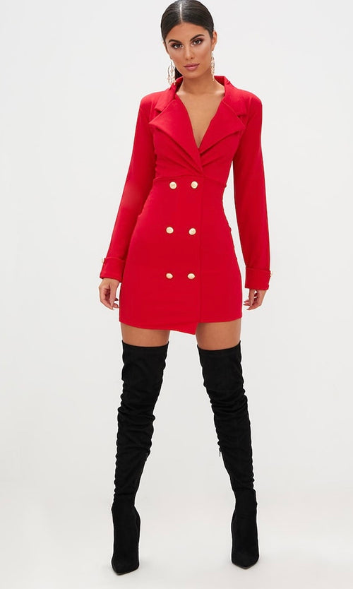 BOSS LADY BLAZER DRESS