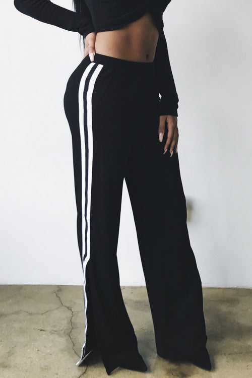 SPORTY SIDE TROUSERS