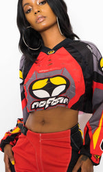 NO FEAR CROPPED MOTO JERSEY
