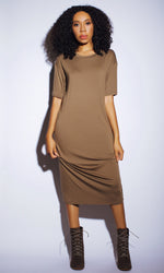 HAUTE IN COCOA TSHIRT DRESS