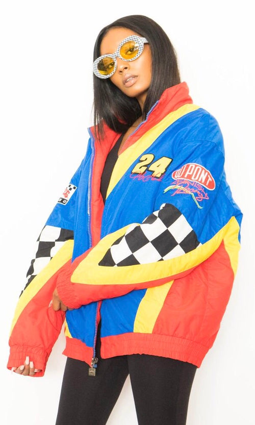 90'S NASCAR RACE TEAM JACKET