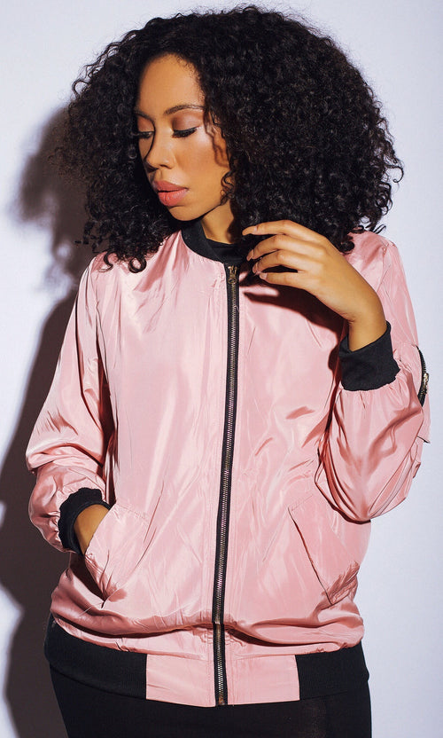 POP OF PINK WINDBREAKER