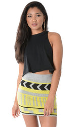 TRIBAL HIGHLIGHTS KNIT MINI