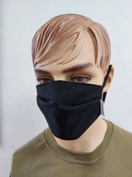Reusable Cotton Face Mask with Detachable Activated Carbon Filter