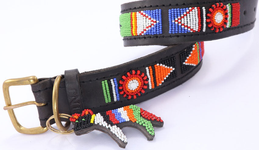 African Style Dog Lead