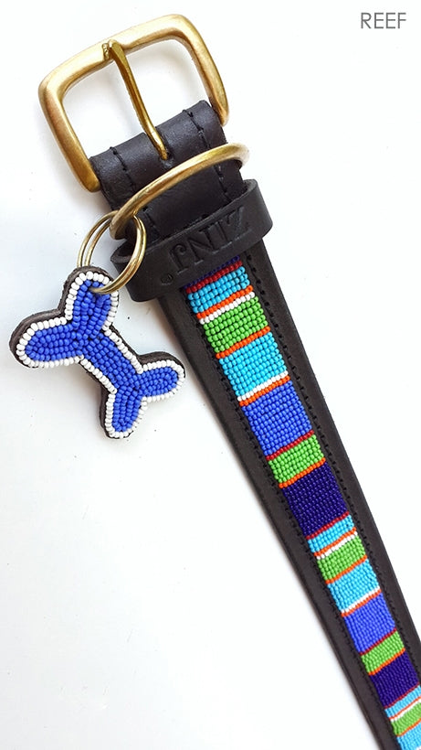 """Reef"" Beaded Dog Collars"