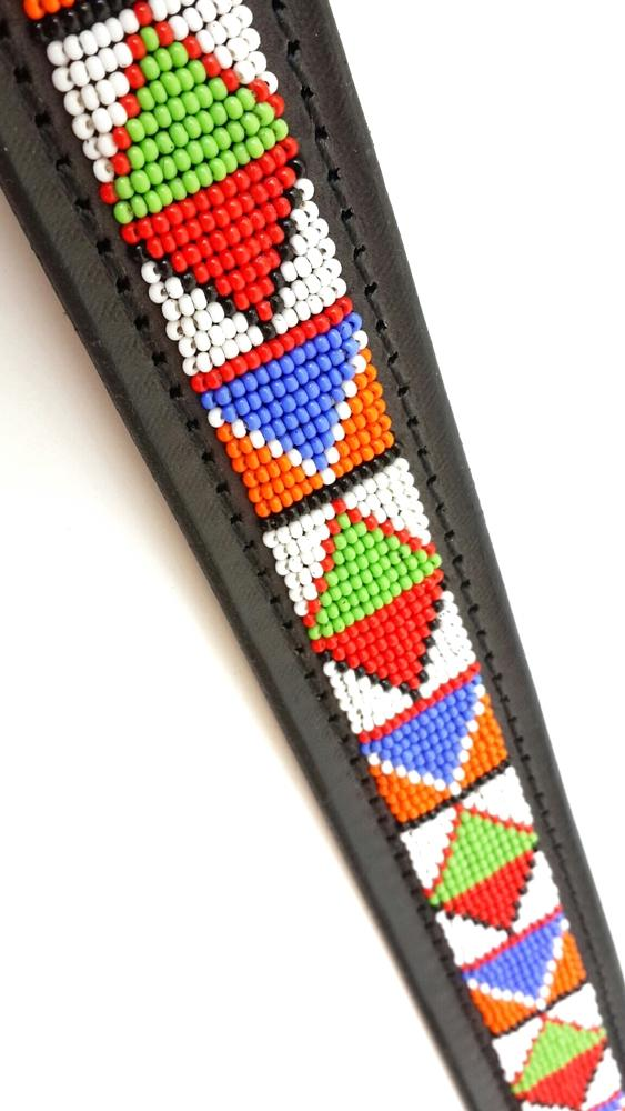 """Samburu"" Beaded Dog Collars"