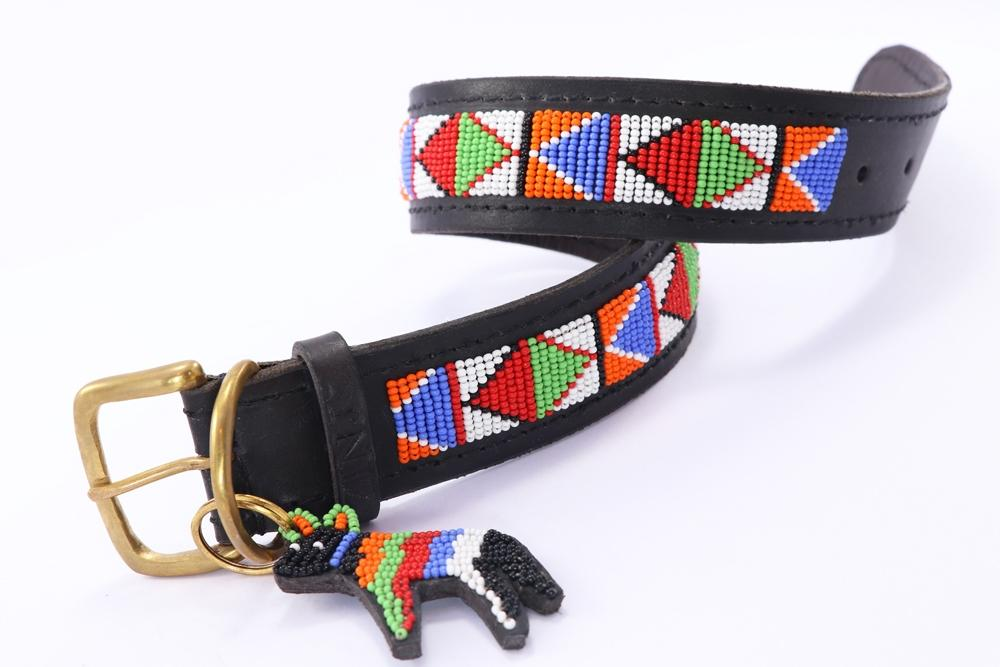 "Load image into Gallery viewer, ""Samburu"" Beaded Dog Collars"