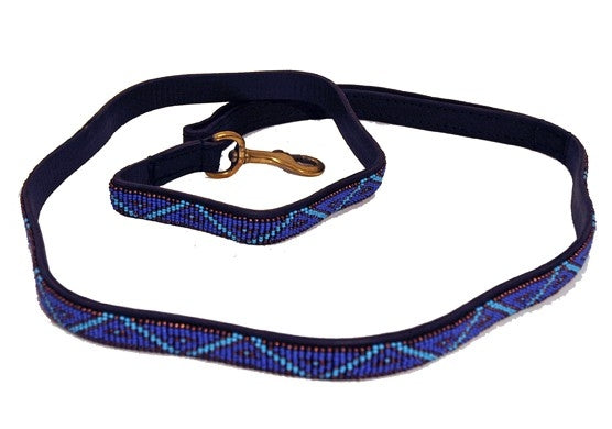 Long Kabaka Blue Dog Lead