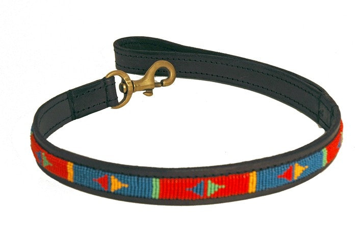 Load image into Gallery viewer, Pokot Red Short Dog Lead