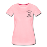 Pawsitive Cattitude Women's T-Shirt - pink