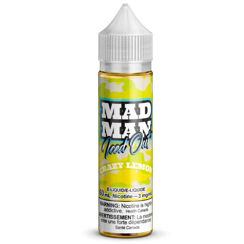 60ml MADMAN ICE Crazy Lemon